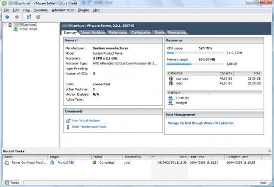VMware Virtual Infrastructure Client 2.5